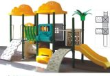 2014 Hot Selling Outdoor Children Amusment Playground Slide with GS and TUV Certificate (QQ12030-1)