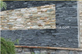 Natural Black Rough Slate Cultured Stone for Wall Decoration