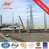 Q235 Conical Waterproof HDG Electrical Power Transmission Poles