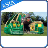 Inflatable Forbidden Temple Obstacle Course for Adults/Inflatable Obstacle Course for Adults