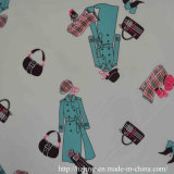 Lining Fabric in Transfer Printed