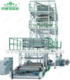 Three Layers Co Extrusion Oscillatory Flaform Film Blowing Machine Set (MD-3LA)