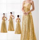Golden! Wedding Dress-Flower Girl Dress-Evening Dress (D-045)