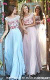 Printing Flora Evening Dress Beaded Chiffon Prom Gowns S51249