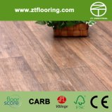 Strand Woven Bamboo Flooring Distressed Handscraped Series Creamy