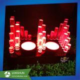Colorful Acrylic LED Liquor Display Stand