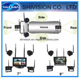 Car Wireless Camera System with Quad Screen