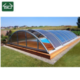Above Ground Clear Solar Pool Cover with Aluminium Frame Design