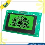 Stn Yellow-Green Positive Transflective 12864 LCD Display