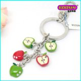Fashion Alloy Custom Handbag Metal Keychain with Charms