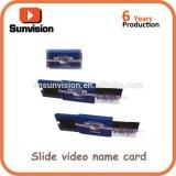 "Digital 2.4"" LCD Advertising Brochure Business Card"