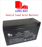 12V7ah Mainterance Free Amg UPS Lead Acid Battery