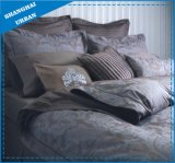 7 Piece Jacquard Feather Pattern Polyester Comforter Set