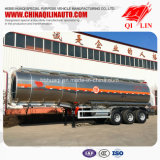 China Manufacture 40000 Liters Aluminum Alloy Oil Tanker Trailer