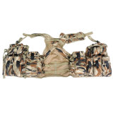 Desert Camoulfage Tactical Vest RS02-18, Polyester Fabric with PU Coating