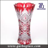 Color Gift Decorative Glass Vase (GB1508GW-P)