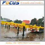 Focus Vehicles--Hot Sale 60t Skeletal Terminal Chassis/ Yard Trailer
