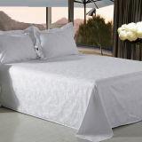 Jacquard Weave Design Bed Sheet Bedding Set