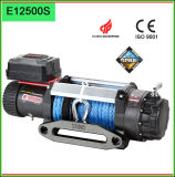 12500lbs Nylon Rope 12V Electric Winches