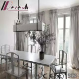 Modern and Simple Rectangle Glass pendant Lamp with Dining Room