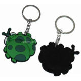 Creative Soft PVC Promotional Key Chain with Beetle (KC-04)