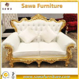 Wedding Party Event High Back Sofa in White Chair