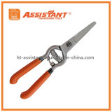 Garden Scissors Drop Forged Curved Blade Pruners Grape Shears