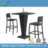 Rattan Outdoor Chair and Table Bar Set