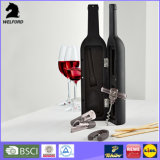 Bottle Shaped Wine Tool Set 3-Piece Wine Bottle Tools Accessories