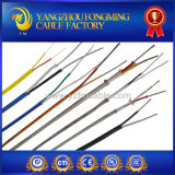 Silicone Insulation Fiberglass Braided Stainless Steel Shield Thermocouple Cable