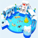 Hot Popular Giant Snow Inflatable Water Park for Water Sport
