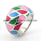 Stainless Steel Guangzhou Fashion Jewelry Enamel Ring