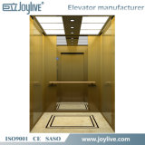 Stable Running 3 Floor Elevator Lift for Hotel with Golden Canbin