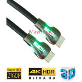 High Speed LED Nylon for 4k HDMI Cable