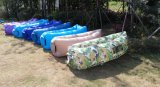 Inflatable Air Lounger OEM Logo Lazy Bed (M137)