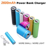 2600mAh Portable Power Bank External Battery Charger for Mobile Phones