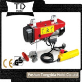 PA Type Emergency Control Button Electric Wire Rope Mini Hoist