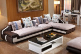 Modern Fabric Living Room Wooden Frame Sofa Sets (HX-SL008)