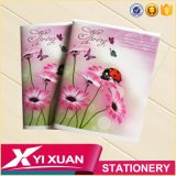 Single Ruled Staple Exercise Book Custom A5 Composition Notebook