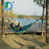 1 Person Luxury Canvas& Cotton Hammock with Wood