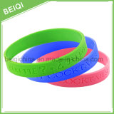 Cheap Custom Silicone Wristband with Logo Debossed