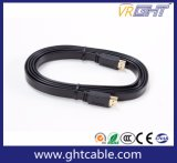 High Quality Flat HDMI Cable for 1.4V / 2.0V 1080P (F016)