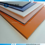 UV-Coated Colorful Plastic Polycarbonate PC Resistant Board