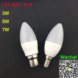 C37 5W LED Bulbs E27 B22 Hot Sale LED Lamps
