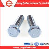 DIN 931 Carbon Steel Zinc Plated Hex Bolt
