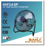 14 Inch Portable High Velocity Floor Fan with All-Metal Construction