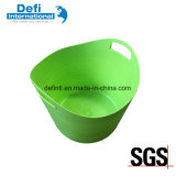 Mini Desk Soft Plastic Flexible Basket