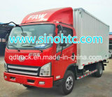 China Sinotruk 4*2 Van Container Light Medium Cargo Truck