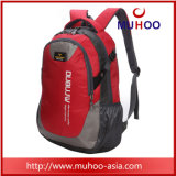Red Oxford School Backpack Duffel Students/Travel Bag for Outdoor