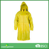 Yellow 100% Waterproof, Breathable, PVC Rain Coat /Raincoat